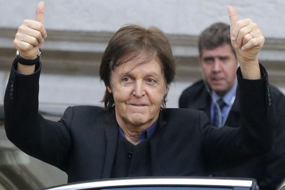 Sir Paul McCartney... (Photo: AP)