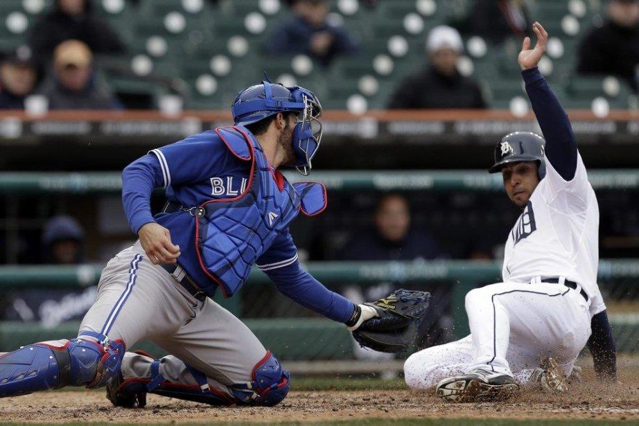Les Tigers de Detroit ont écrasé les Blue Jays de Toronto par la... (Photo AP)
