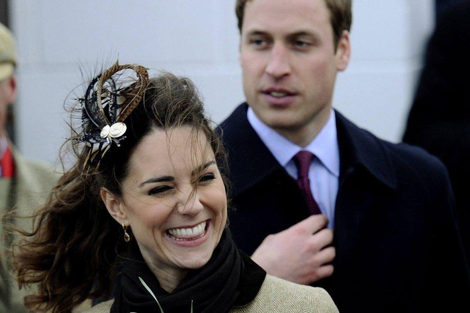 L'épouse du prince William, Kate Middleton, serait enceinte... (PHOTO DYLAN MARTINEZ, REUTERS)