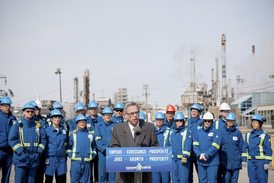 Le ministre canadien des Ressources naturelles, Joe Oliver,... (PHOTO DAVIS BOILY, LA PRESSE)