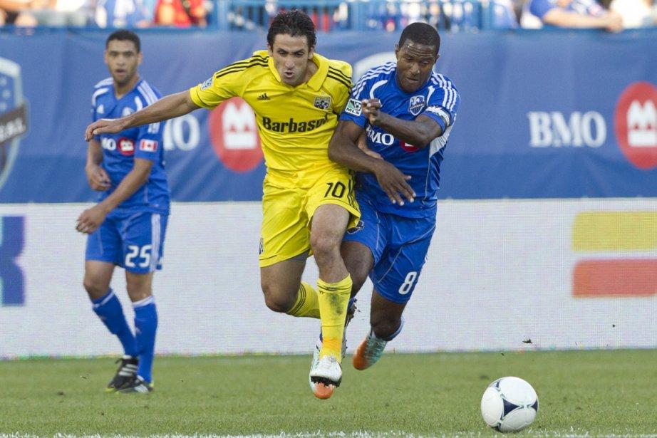 Les matchs entre l'Impact et le Crew de... (Photo Hugo-Sébastien Aubert, La Presse)
