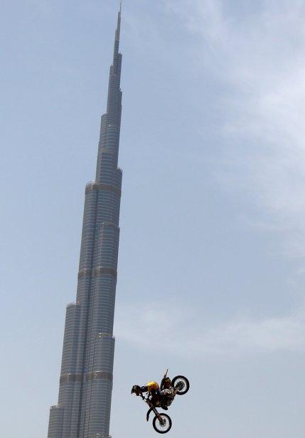 Compétition de motocross à Dubaï | 12 avril 2013