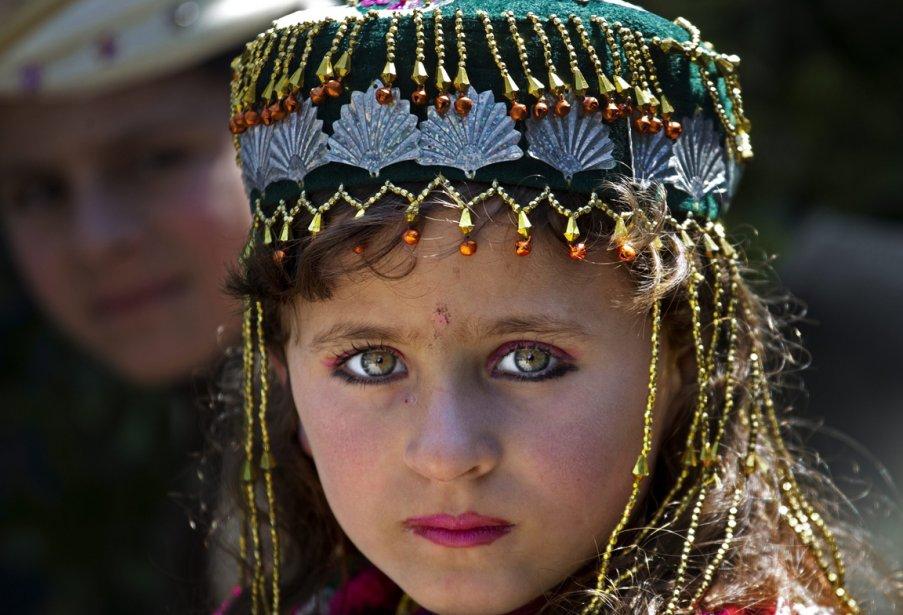 Une jeune déplacée pakistanaise au Waziristan-sud | 12 avril 2013