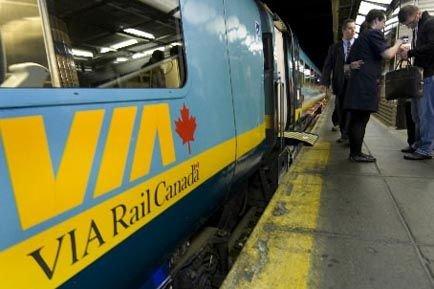 VIA Rail offrira un service de vidéo sur... (Photothèque La Presse)