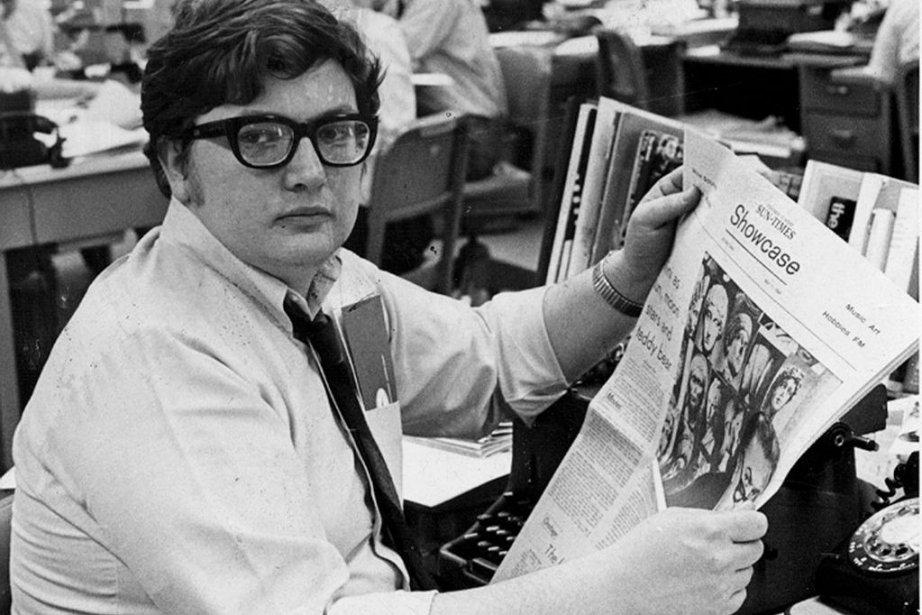 Roger Ebert en 1969... (Photo: archives AP)