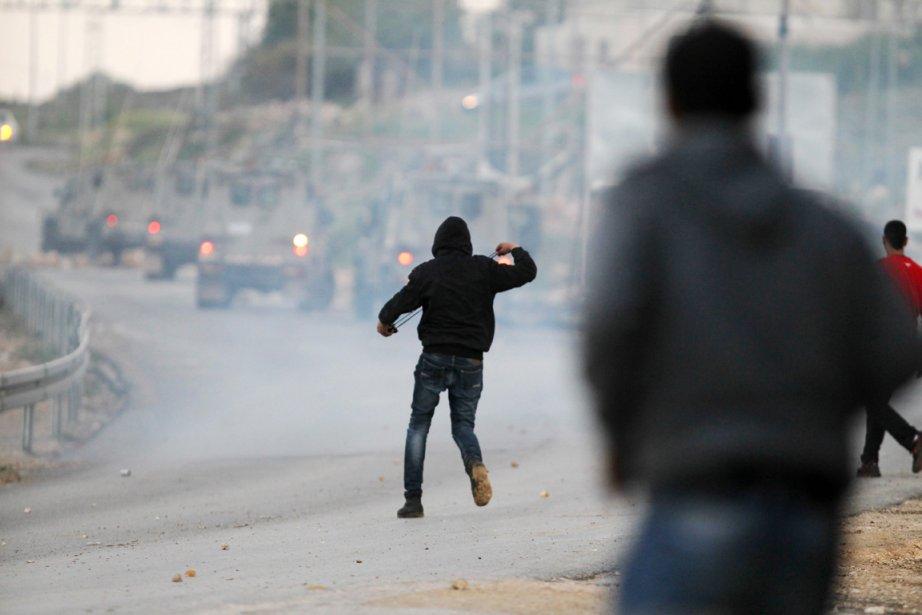 Le 5 avril, un mineur palestinien de 14... (PHOTO ABBAS MOMANI, AFP)