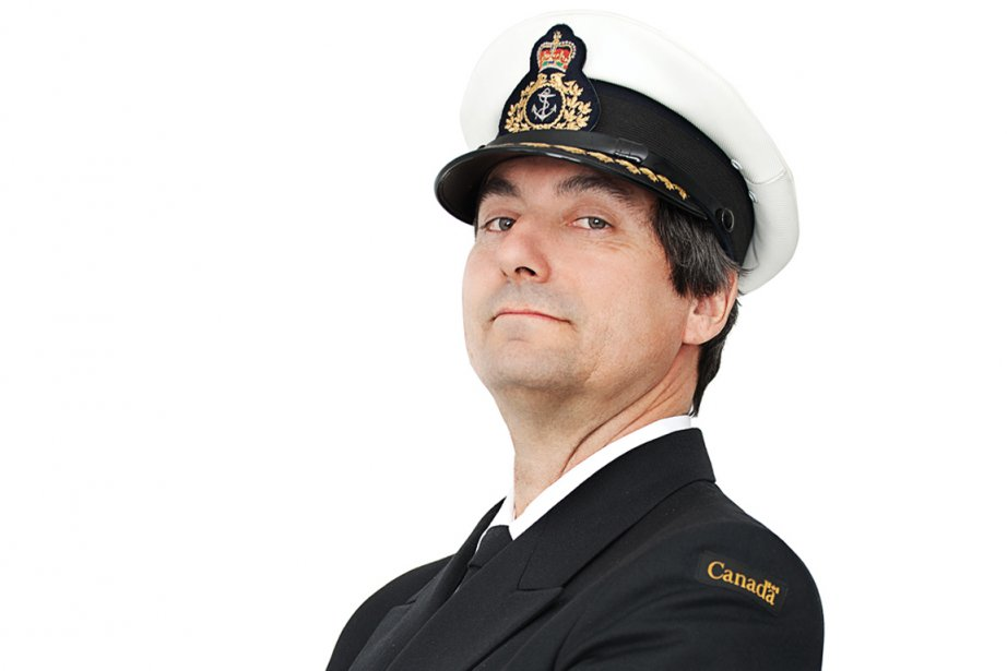 Sylvain Bertrand, capitaine d'un brise-glace de la Garde... (Photo : Martin Flamand)
