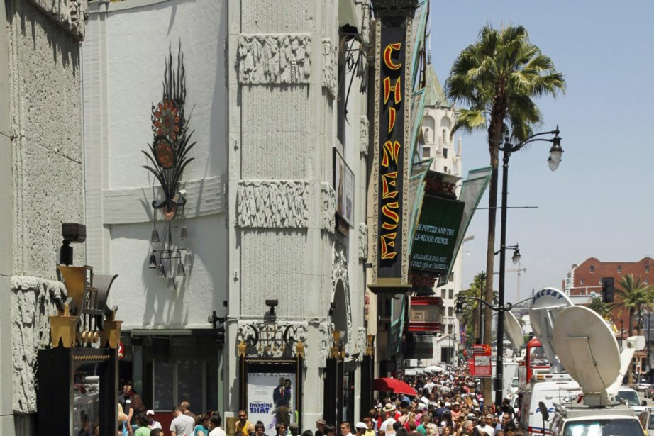 Le Chinese Theatre... (Photo: archives AP)