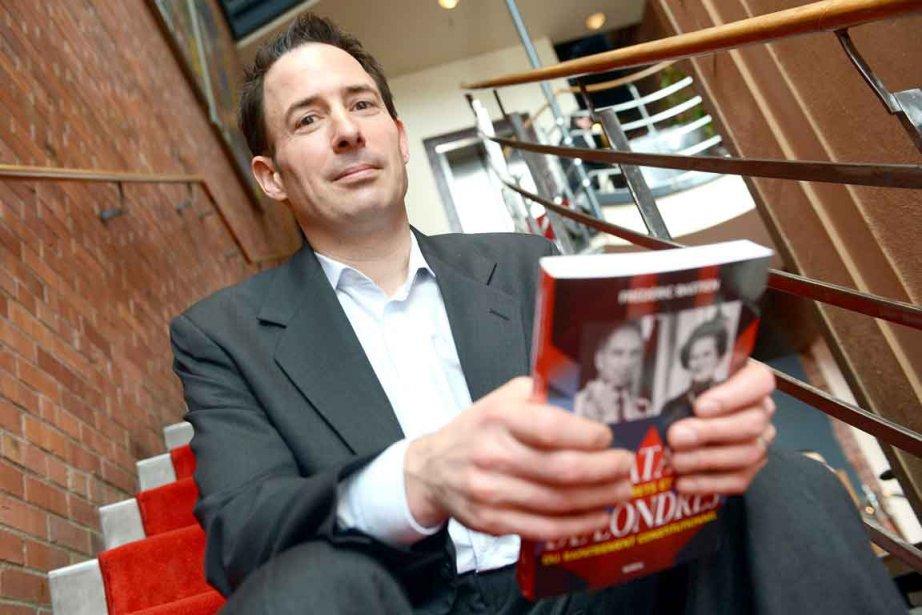 Frédéric Bastien, auteur deLa bataille de Londres.... (Photo Le Soleil, Patrice Laroche)