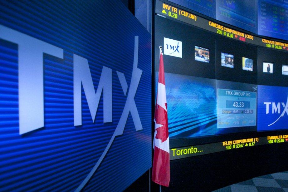 La Bourse de Toronto a clôturé en... (Photo Norm Betts, archives Bloomberg)