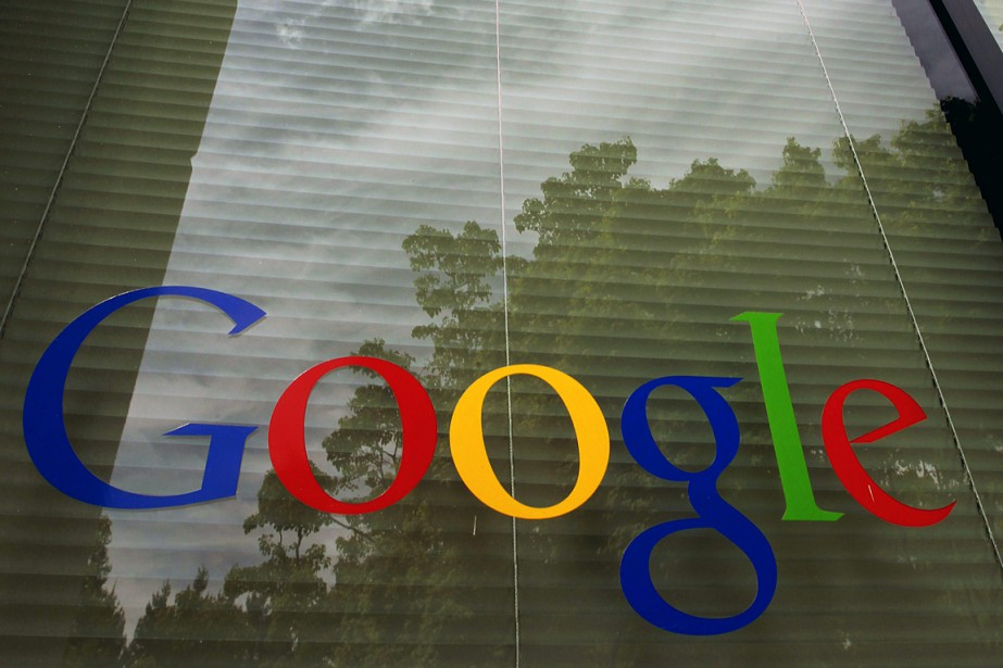 Un logo de Google apparaît dans l'une des... (PHOTO ARCHIVES AP)