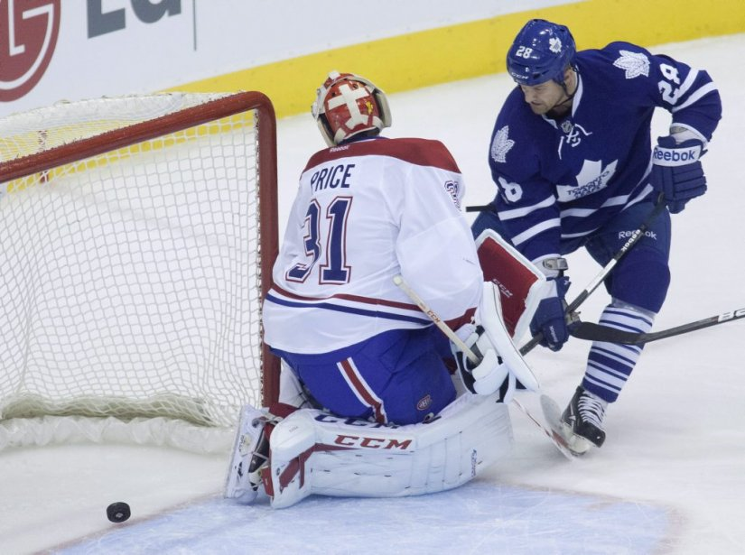 Carey Price est battu. (Photo Jesse Johnston, La Presse Canadienne)