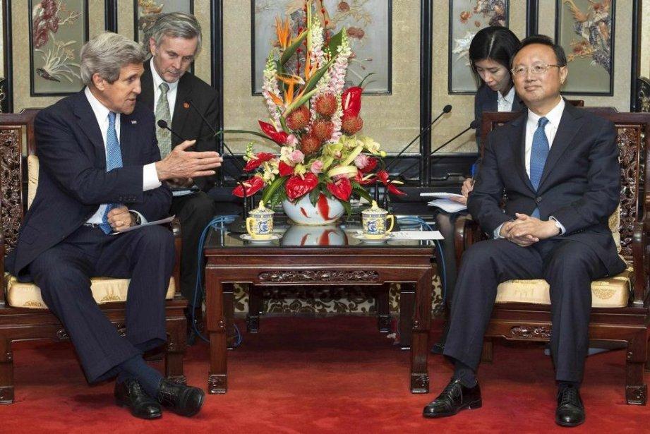 Le secrétaire d'État américain John Kerry a été... (Photo Paul J. Richards, REUTERS)