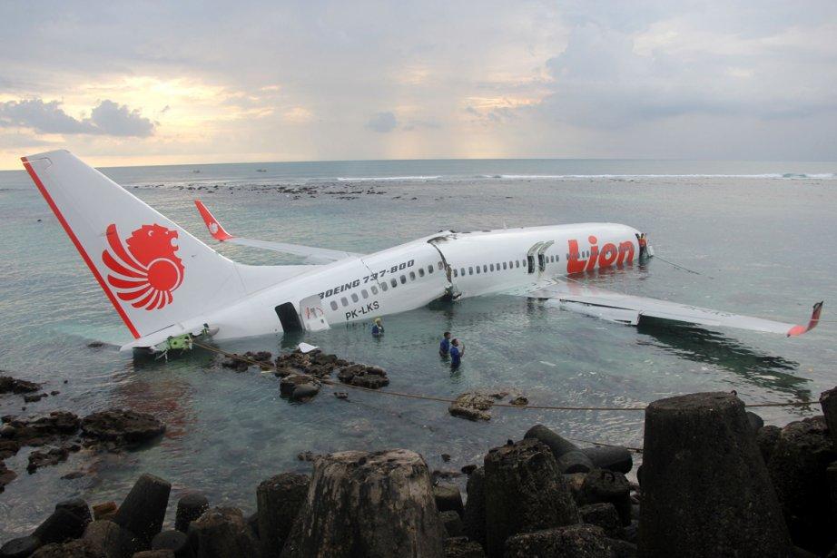 Un avion de la compagnie indonésienne Lion Air... (Photo : AFP)