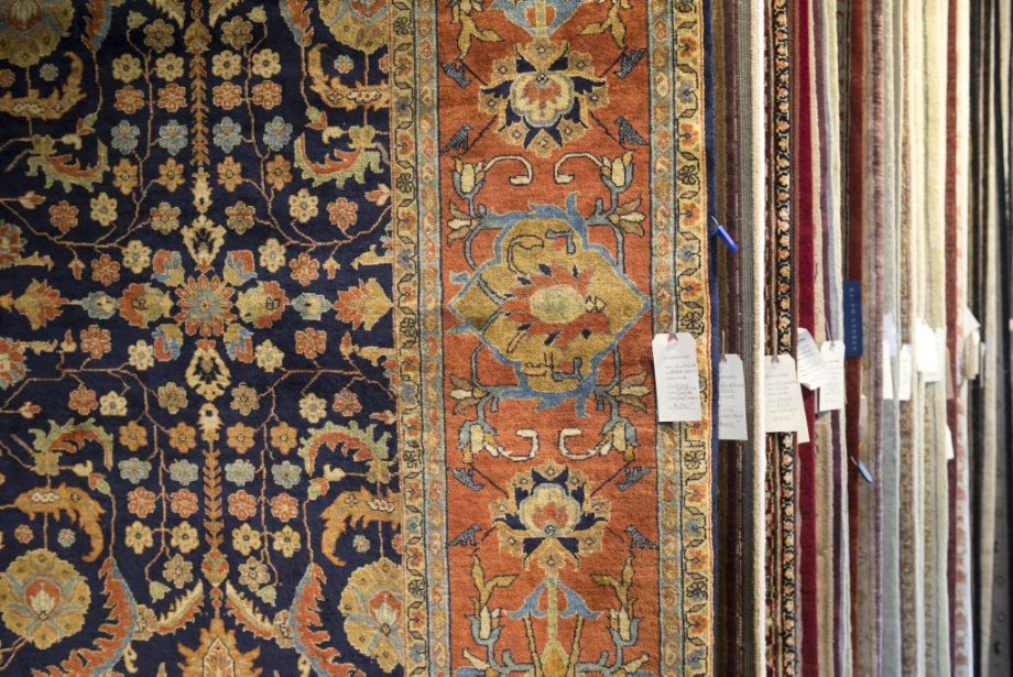 tapis laine style oriental