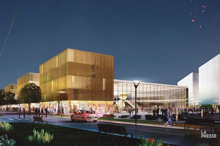 L'opération inclura la construction d'un magasin Ikea de... (Image WILMOTTE & ASSOCIÉS)