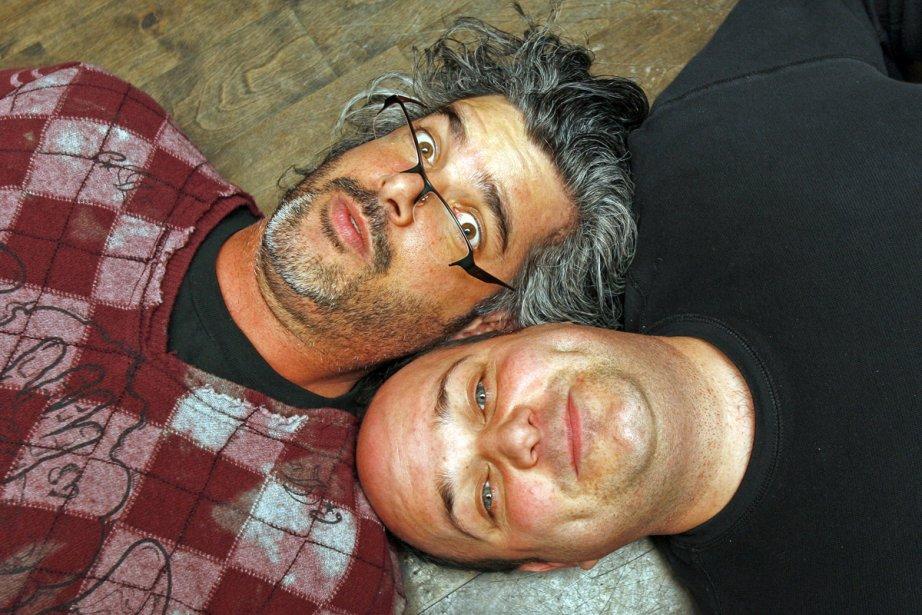 Réal Béland et Stéphane Lefèvre... (Photo: Robert Mailloux, archives La Presse)