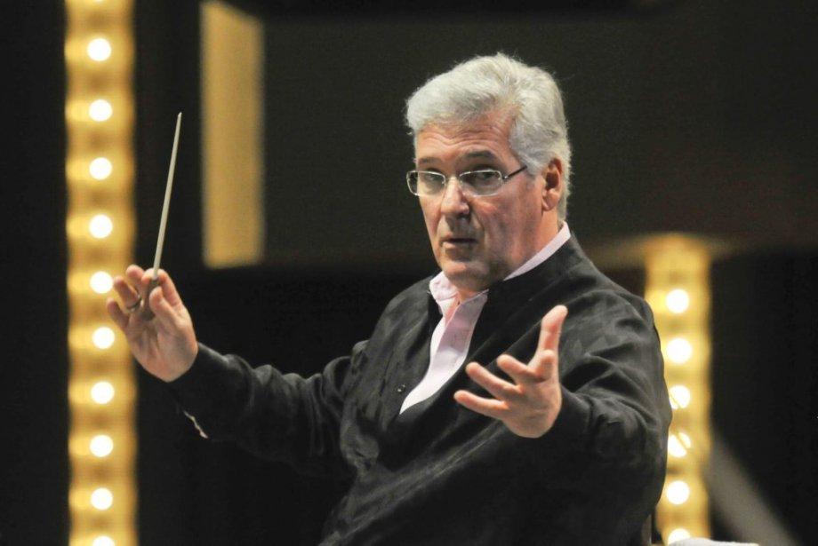 Le chef d'orchestre  du CNA Pinchas Zukerman... (Martin Roy, Archives LeDroit)