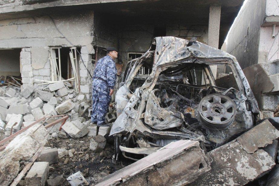 Al-Qaïda en Irak avait revendiqué en mars une... (PHOTO AKO RASHEED, ARCHIVES REUTERS)