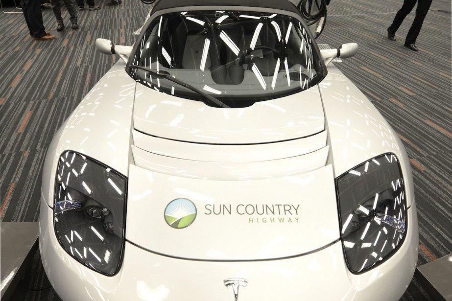 L'entreprise ontarienne Sun Country Highway s'étend au Québec.... (Photo Bernard Brault, La Presse)