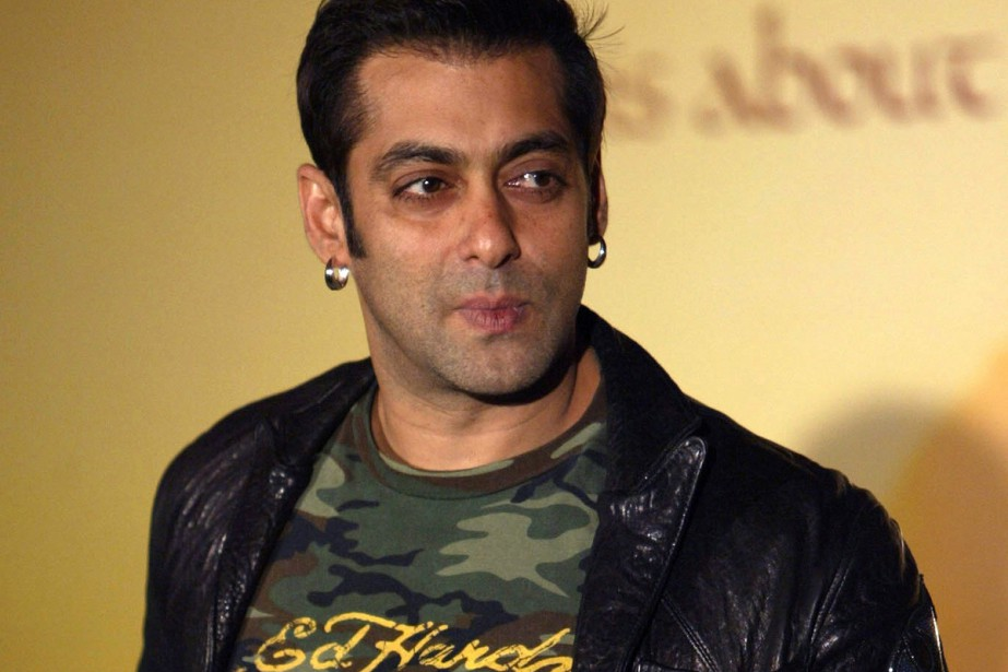 Salman Khan... (PHOTO ARCHIVES AP)