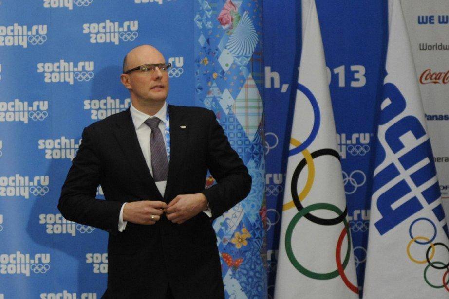 Le président du comité organisateur des Jeux olympiques... (Photo Mikhail Mordasov, AFP)
