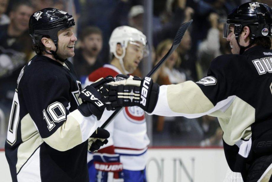 Les Penguins ne se sont jamais sentis menacés mercredi soir.... | 2013-04-17 00:00:00.000