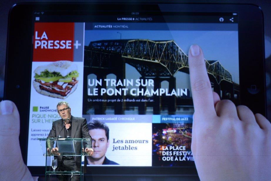 Guy Crevier, Président et Éditeur de La Presse, lors de... | 2013-04-17 00:00:00.000