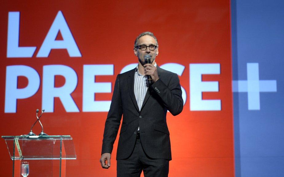 Luc Tremblay, Vice-Président, Ventes, à La Presse. | 17 avril 2013