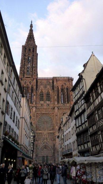 La cathédrale Notre-Dame, joyau de Strasbourg. | 18 avril 2013