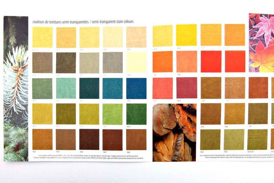 Fiche de teintures pour le bois mich le laferri re d co for Lasure bois interieur couleur