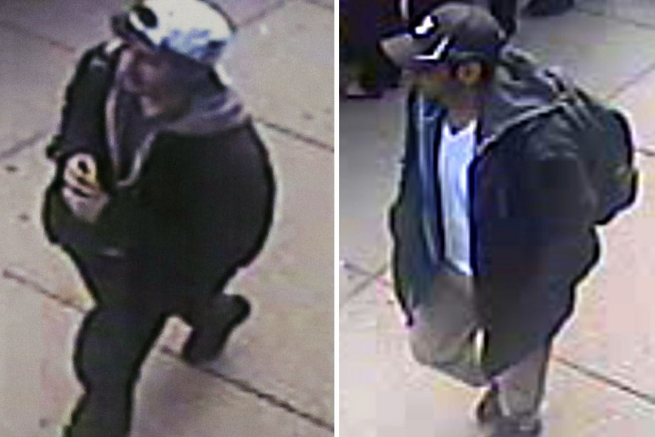 Djokhar etTamerlan Tsarnaev... (IMAGES AP/FBI)