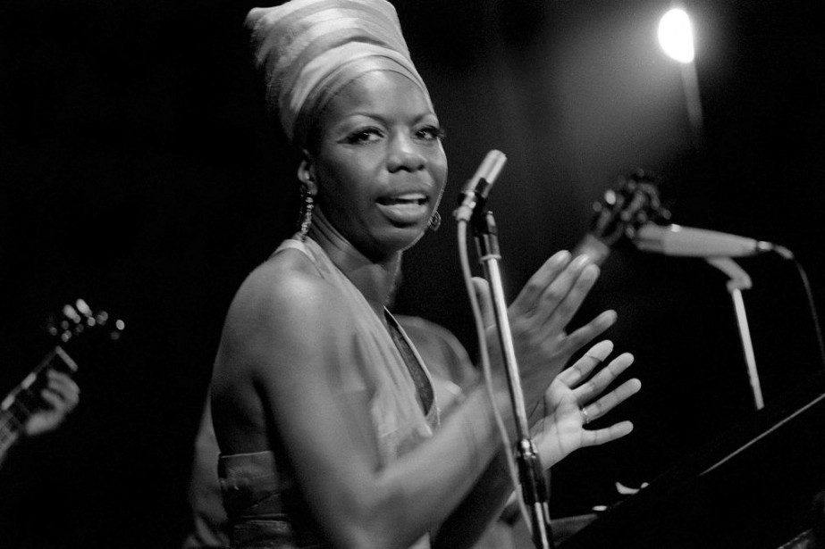 Nina Simone en 1969... (PHOTO ARCHIVES AFP)
