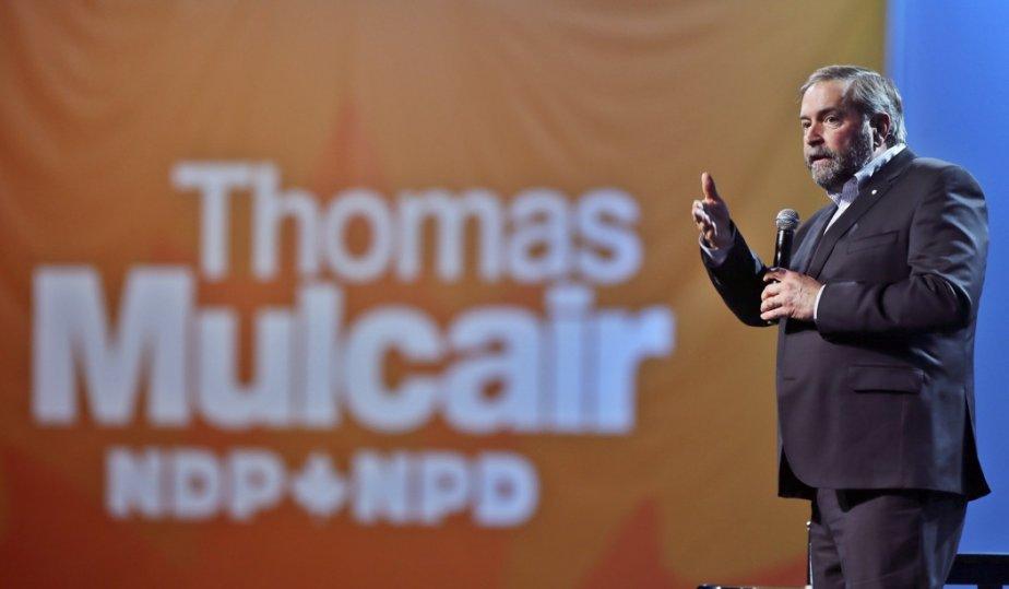 Le chef du NPD, Thomas Mulcair.... (Photo Christinne Muschi, Reuters)