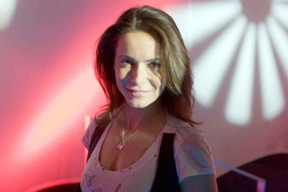 L'animatrice, chroniqueuse et journaliste Marie Plourde.... (Photothèque Le Soleil)