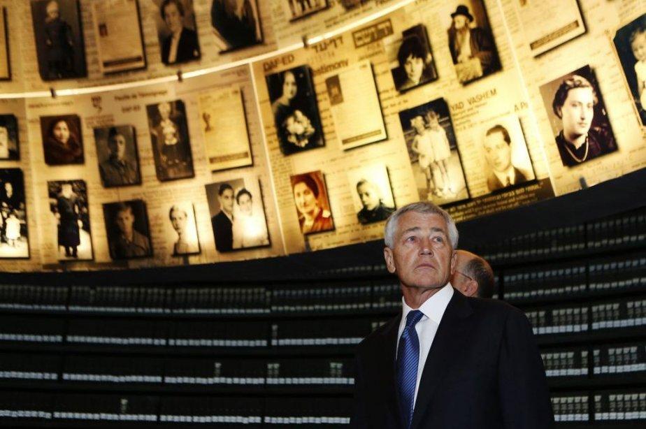 Le secrétaire américain à la Défense Chuck Hagel... (PHOTO BAZ RATNER, REUTERS)