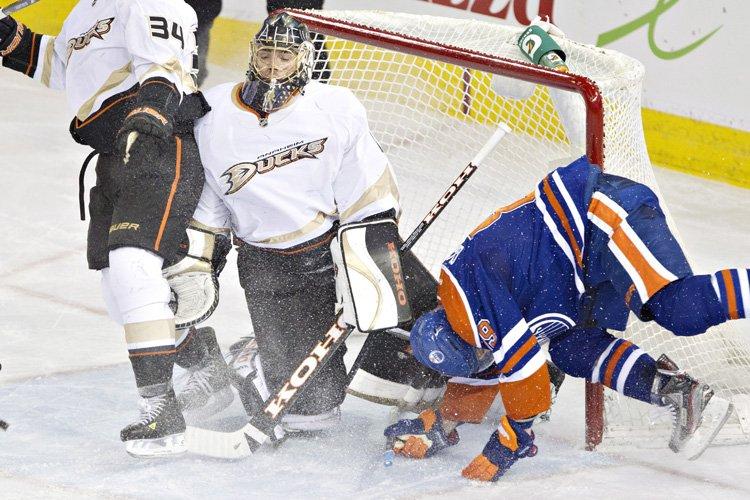 Les Oilers d'Edmonton vont rater les séries éliminatoires pour une... (Photo: PC)
