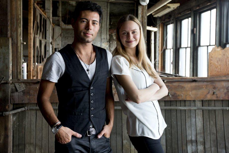 Corneliu Montano et Meggie Lagacé... (Photo: Alain Roberge, La Presse)
