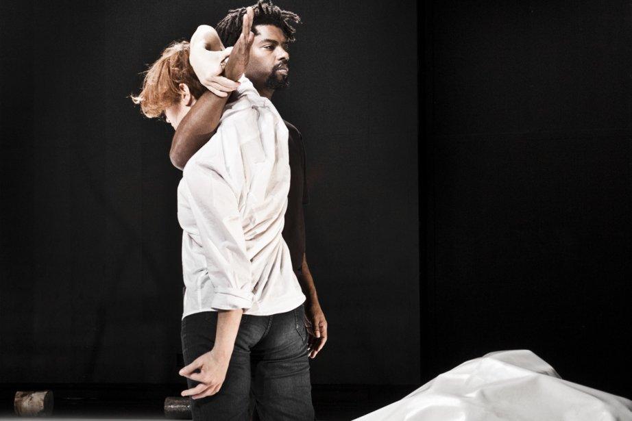 Emmanuel Jouthe et Chiara Frigo dans When we... (Photo: fournie par l'Agora de la danse)