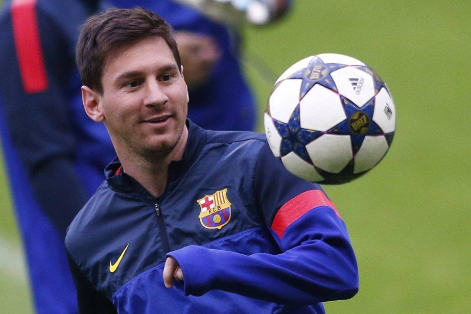 Lionel Messi... (Photo Michael Dalder, Reuters)
