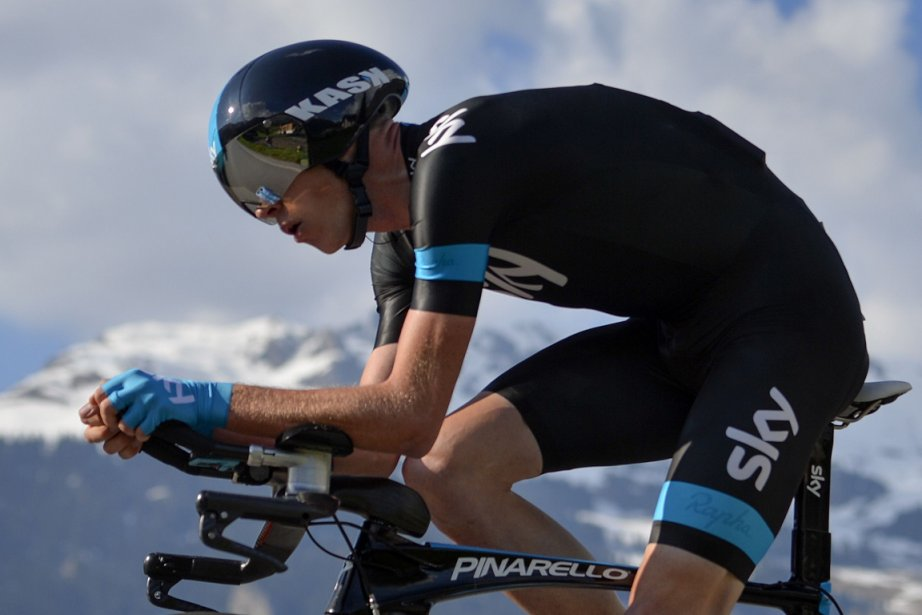 Christopher Froome... (Photo Fabrice Coffrini, AFP)