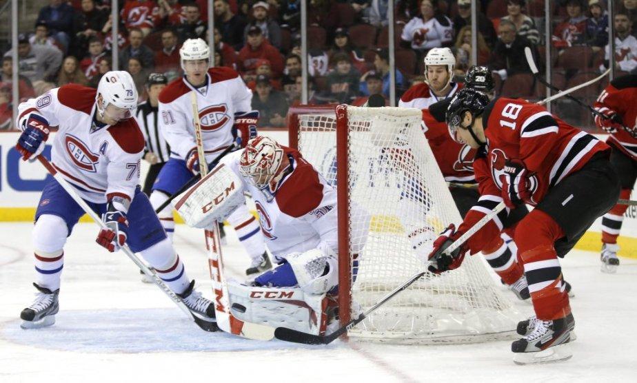 Les Devils reviennent à la charge avec Steve Bernier. | 23 avril 2013