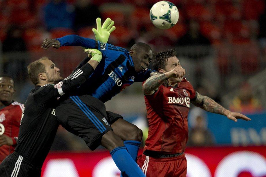 L'Impact doit l'emporter par trois buts d'écart ce... (Photo Frank Gunn, archives PC)