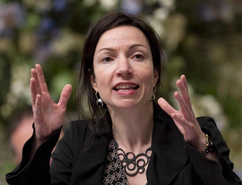 La ministre des Ressources naturelles, Martine Ouellet.... (Photo PC)