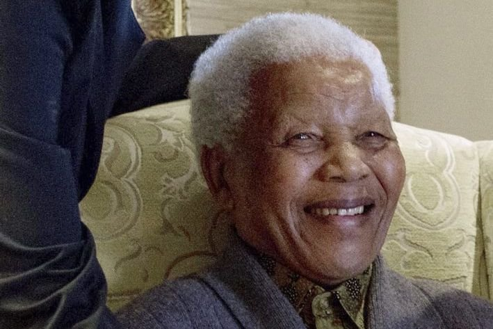 Nelson Mandela en août 2012.... (Photo archives AFP)