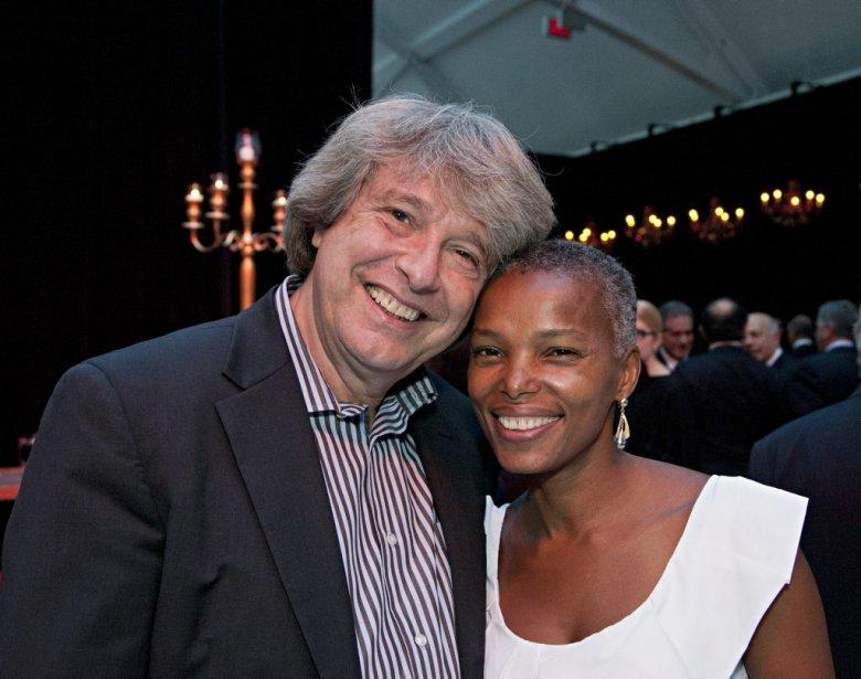 Parmi les 600 convives, le président de Spectra, Alain Simard, et sa conjointe Elourdes Pierre. | 26 avril 2013