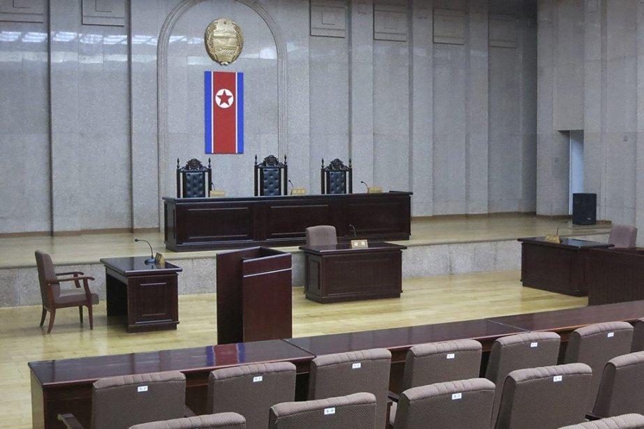 LaCour suprême de la Corée du Nord.... (PHOTO AP)