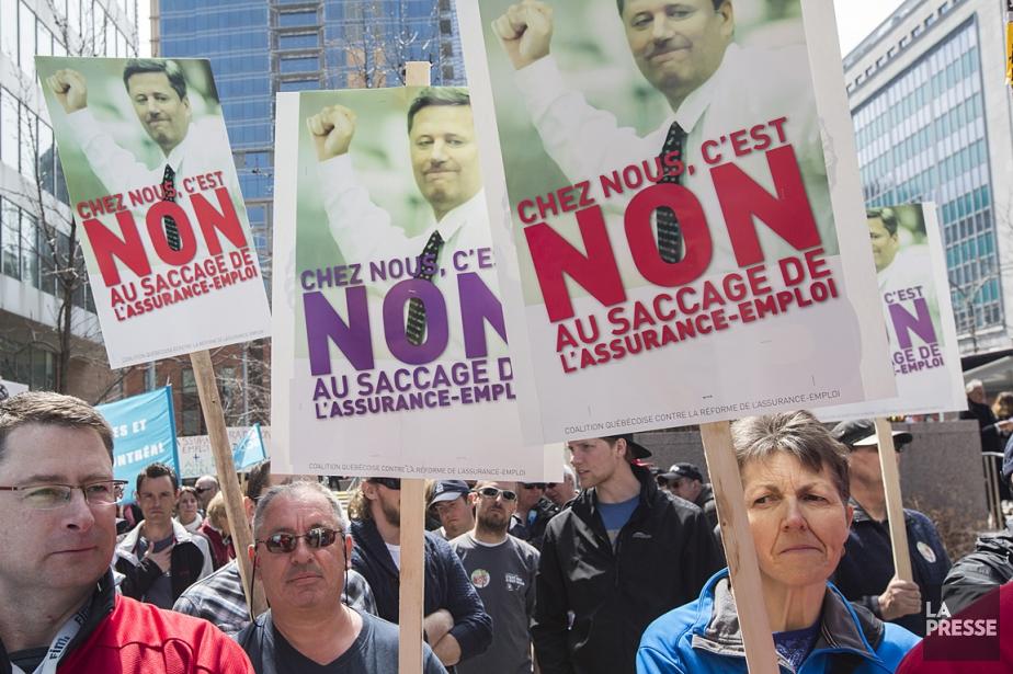 La réforme de l'assurance-emploi suscite la colère de... (Photo: Olivier PontBriand, La Presse)