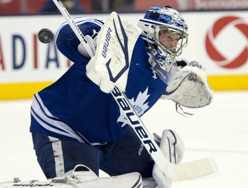 James Reimer (Photo Frank Gunn, La Presse Canadienne)
