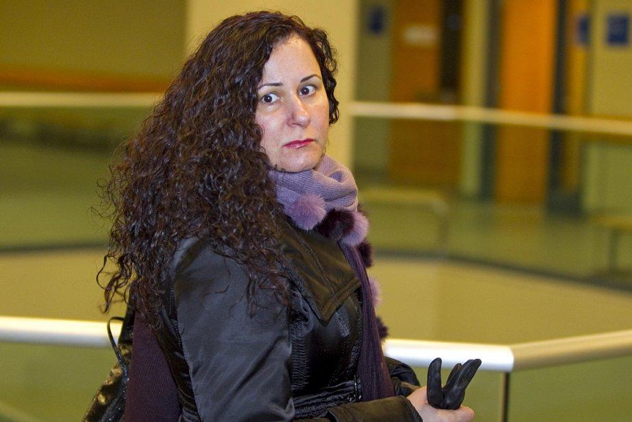 Adèle Sorella, photographiée au palais de justice en... (Photo: Alain Roberge, archives La Presse)
